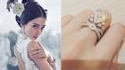 Huỳnh Hiểu Minh và Angela Baby tiết lộ thiệp cưới cùng nhẫn cưới tiền tỉ