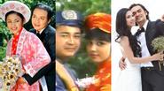 Nhan sắc của Việt Trinh qua 5 lần mặc váy cưới
