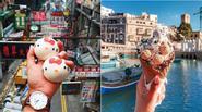 Cô gái đam mê ẩm thực đi khắp thế giới chụp ảnh đồ ăn