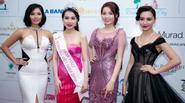 Dàn sao Việt váy áo lộng lẫy đi xem HH Hoàn Vũ Việt Nam 2015