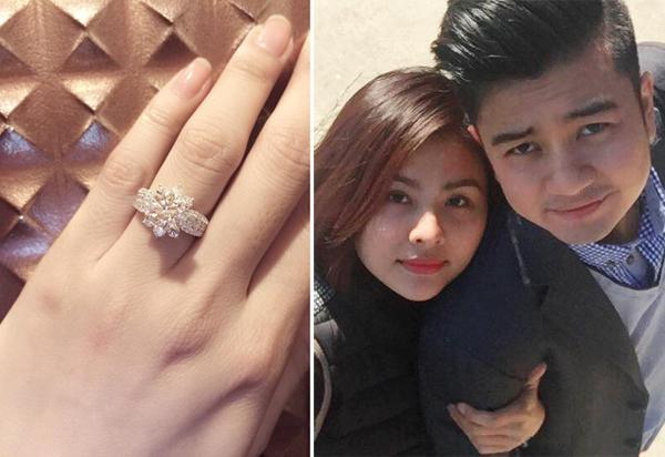Vân Trang đứng hình khi bạn trai cầu hôn bằng nhẫn kim cương - Ảnh 4
