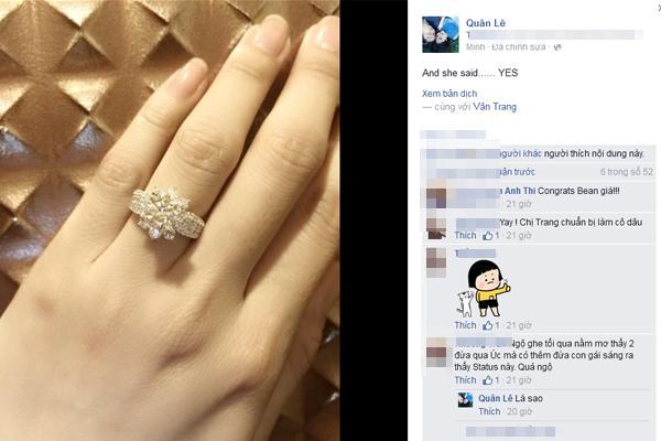 Vân Trang đứng hình khi bạn trai cầu hôn bằng nhẫn kim cương - Ảnh 3