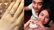 Vân Trang khoe nhẫn kim cương được bạn trai cầu hôn