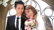 """Vũ Duy Khánh làm...cô dâu """"tranh ảnh"""" trong bộ ảnh cưới"""