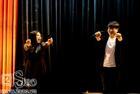 Đức Phúc nhảy vũ điệu cồng chiêng đón tân sinh viên