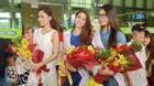 Hoa hậu và Á Hậu làm náo loạn sân bay Tân Sơn Nhất