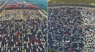 Cảnh ùn tắc khủng khiếp tại Bắc Kinh sau kỳ nghỉ lễ quốc khánh