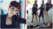 Thu Trang 'phá sản' vì chứng khoán, nhóm 365 bầm dập trên sàn tập võ
