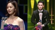 Kim Soo Hyun và Kim Tae Hee bị 'ném đá' dữ dội khi giành giải tại KDA