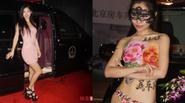 Dàn mẫu phản cảm ăn theo đám cưới Huỳnh Hiểu Minh - Angela Baby