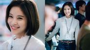 Vẻ đẹp không tì vết của 'quạ hóa công' Hwang Jung Eum