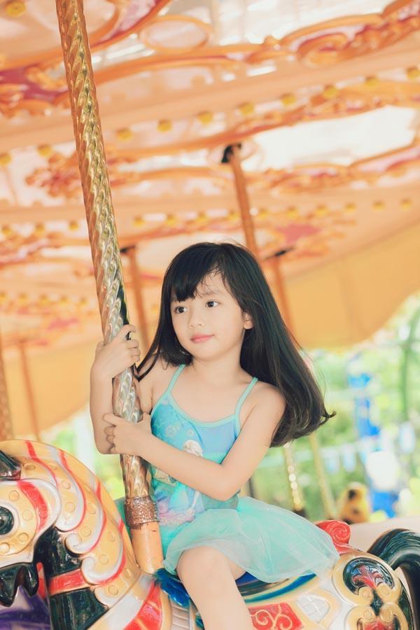 HH Ngọc Diễm khoe con gái xinh đẹp như thiên thần ảnh 8