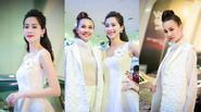 Hoa hậu Thu Thảo e lệ bên Thanh Hằng đầy cá tính