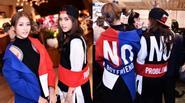 Khả Ngân diện đồ lạ, slogan tuyên ngôn của F.A cùng bạn gái Thái