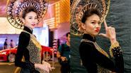 Cận cảnh chiếc áo dài 1,2 tỷ đồng của Thanh Hằng
