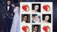Huỳnh Hiểu Minh và Angela Baby bị ném đá vì định phát hành tem cưới