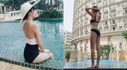 Quỳnh Anh Shyn khoe vóc dáng nhỏ nhắn với bikini