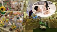 Vợ chồng Tuấn Hưng tưng bừng tổ chức tiệc sinh nhật cho con trai
