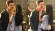 Con trai cả nhà Beckham tình cảm bên bạn gái tin đồn