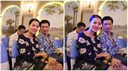 Vợ chồng Dustin Nguyễn – BB Phạm nắm chặt tay trong sự kiện