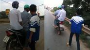 Bố xích con trai vào xe máy rồi kéo về nhà vì tội... mê game