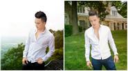 Cao Thái Sơn 'rửa hình tượng' với sơ trắng quần jean thư sinh