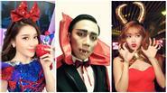 Sao Việt thi nhau hoá ma quỷ mừng lễ Halloween