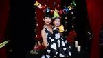 Mẹ con Xuân Lan mặc đồ đôi hạnh phúc trong ngày sinh nhật