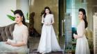 Dương Tú Anh đẹp như công chúa với đầm trắng bồng bềnh