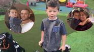 Rooney dựng sân golf mini mừng sinh nhật con trai