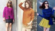 'Bỏ túi' các cách mix với áo len chui tuyệt xinh như kiều nữ Việt