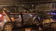 Lời kể kinh hoàng của 2 vợ chồng bị chiếc taxi đâm sượt