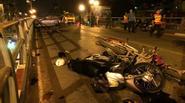 Vợ tài xế taxi nói gì sau vụ tai nạn liên hoàn ở cầu vượt ?