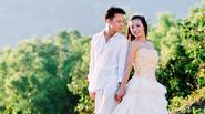 Ngắm lại ảnh cưới của MC Huyền Ny và chồng nha sĩ