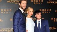 Jennifer Lawrence khoe sắc rực rỡ tại Bắc Kinh