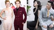 """Chi Pu - Gil Lê """"đẹp đôi"""" đi ra mắt phim, Ba Duy khoe ảnh chụp cùng Tâm Tít"""