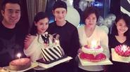 Angelababy tổ chức sinh nhật ngọt ngào cho Huỳnh Hiểu Minh