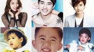 """20 sao nam nữ Hàn tấm bé đẹp như """"tranh vẽ"""""""