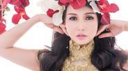 HH quý bà Sương Đặng đẹp tựa nữ thần với dạ hội đắp hoa hồng