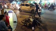 Tiền đạo Huế nguy kịch sau tai nạn giao thông