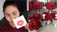 """Vân Trang hé lộ những hình ảnh chuẩn bị cho lễ ăn hỏi """"đỏ toàn tập"""""""