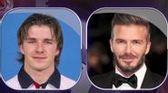 Khuôn mặt của Beckham thay đổi thế nào trong 18 năm qua