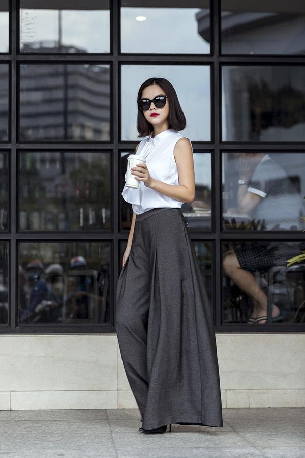 Mê đắm vẻ đẹp trẻ trung suốt cả tuần của Phạm Quỳnh Anh