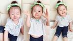 Con gái Elly Trần làm thôn nữ hái rau dễ thương