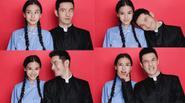 Ảnh đăng kí kết hôn nhí nhố siêu đáng yêu của cặp đôi Huỳnh Hiểu Minh - Angela Baby