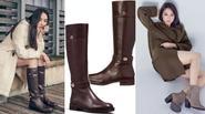 """Đi tìm kiểu boots """"được lòng"""" sao Hàn ngày đông"""