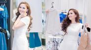 Diễm Hương hào hứng sắm đồ cho chồng và con trước ngày cưới