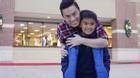 Lam Trường hạnh phúc khi gặp và vui chơi cùng con tại Mỹ
