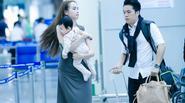 Vợ chồng Diễm Hương đưa con trai sang Pháp hưởng tuần trăng mật