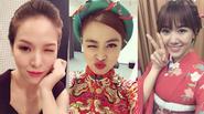 Khám phá những dáng selfie độc nhất vô nhị của Sao Việt